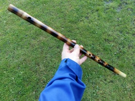 Nay Bansuri flame colored G - 1